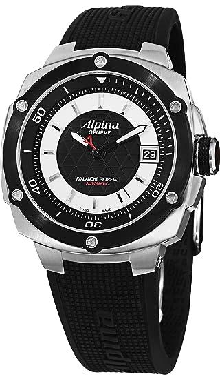Alpina hombres de al525lbs3ae6 Avalancha Extreme pantalla analógica Swiss - Reloj automático negro: Alpina: Amazon.es: Relojes