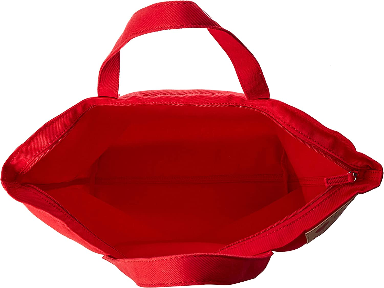 Love Moschino Denim, Borsa a mano Donna, 13x36x53 cm (W x H x L) Rosso (Rosso)