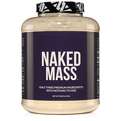 Naked Mass – All-Natural Weight Gainer Protein Powder