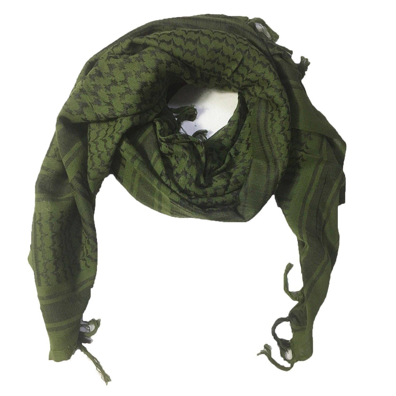 3d57c9a92cc0 MiaoMa Plus épais Outdoors100% coton militaire Keffieh tactique Desert  Keffieh Foulard schwarz China