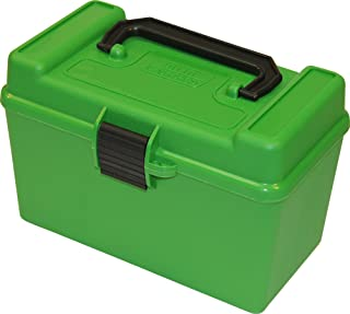 product image for MTM H50-RM Deluxe 50-Round Rifle Ammo Box 220 Swift 22-250 243 308 Win