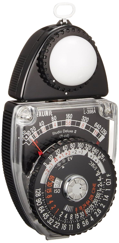 Fotómetro Sekonic Studio Deluxe III L-398A