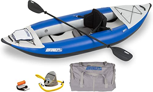 Sea Eagle SE300X Explorer Inflatable Kayak, Pro Package