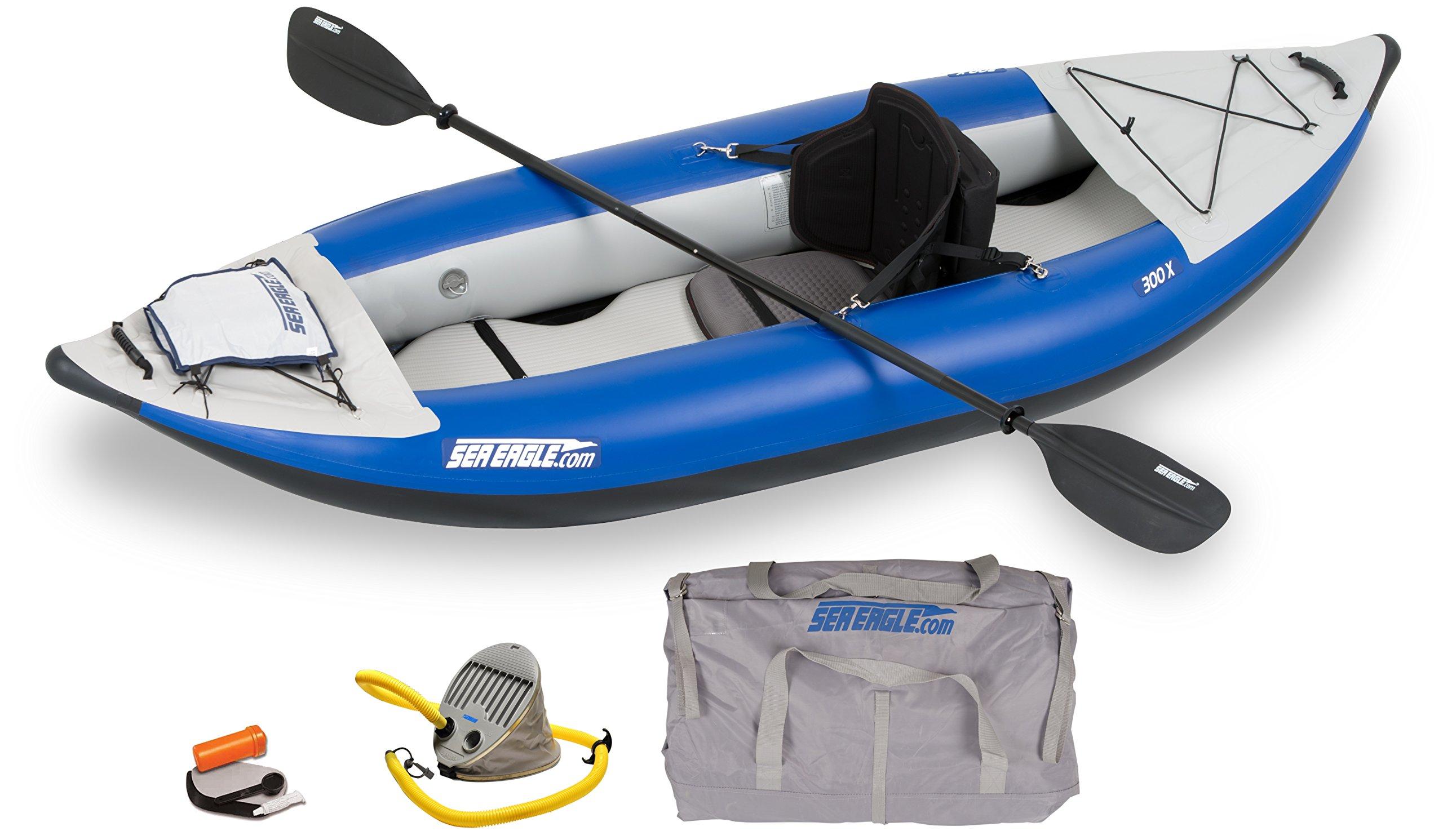 Sea Eagle SE300X Explorer Inflatable Kayak, Pro Package