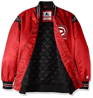 4c0db7a69 Amazon.com   STARTER NBA Men s The Enforcer Retro Satin Jacket   Sports    Outdoors