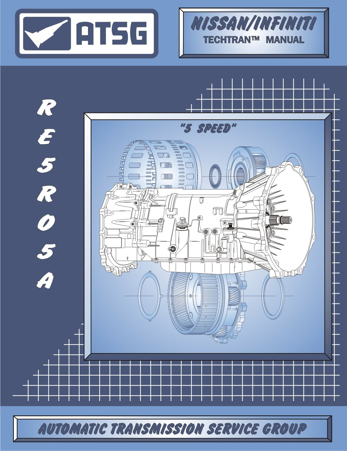 atsg nissan infiniti re5r05a techtran transmission rebuild manual Infiniti FX35 Headlight Wiring Diagram