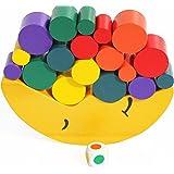 TOWO Wooden Stacking Blocks Balancing Game for Children - Wooden Blocks Balancing Moon - Stacking and Sorting Wooden Toy…