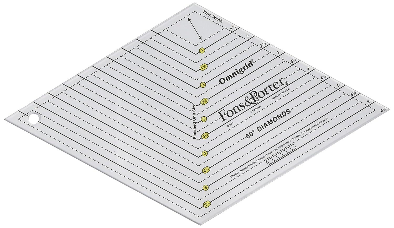 Amazon.com: Fons and Porter Diamond Ruler