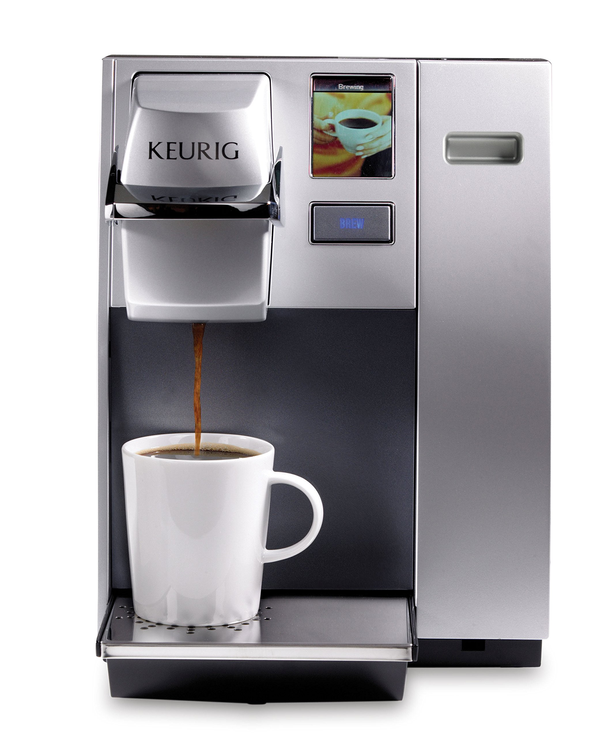 Keurig K155 Office Pro Commercial Coffee Maker, Single Serve K-Cup Pod Coffee Brewer, Silver by Keurig