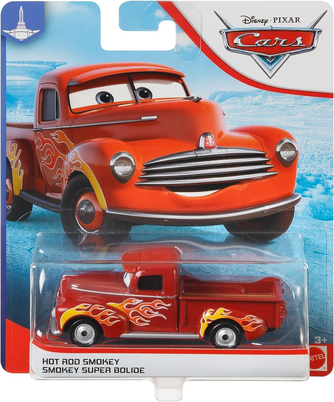 New Disney Pixar Cars Hot Rod Smokey