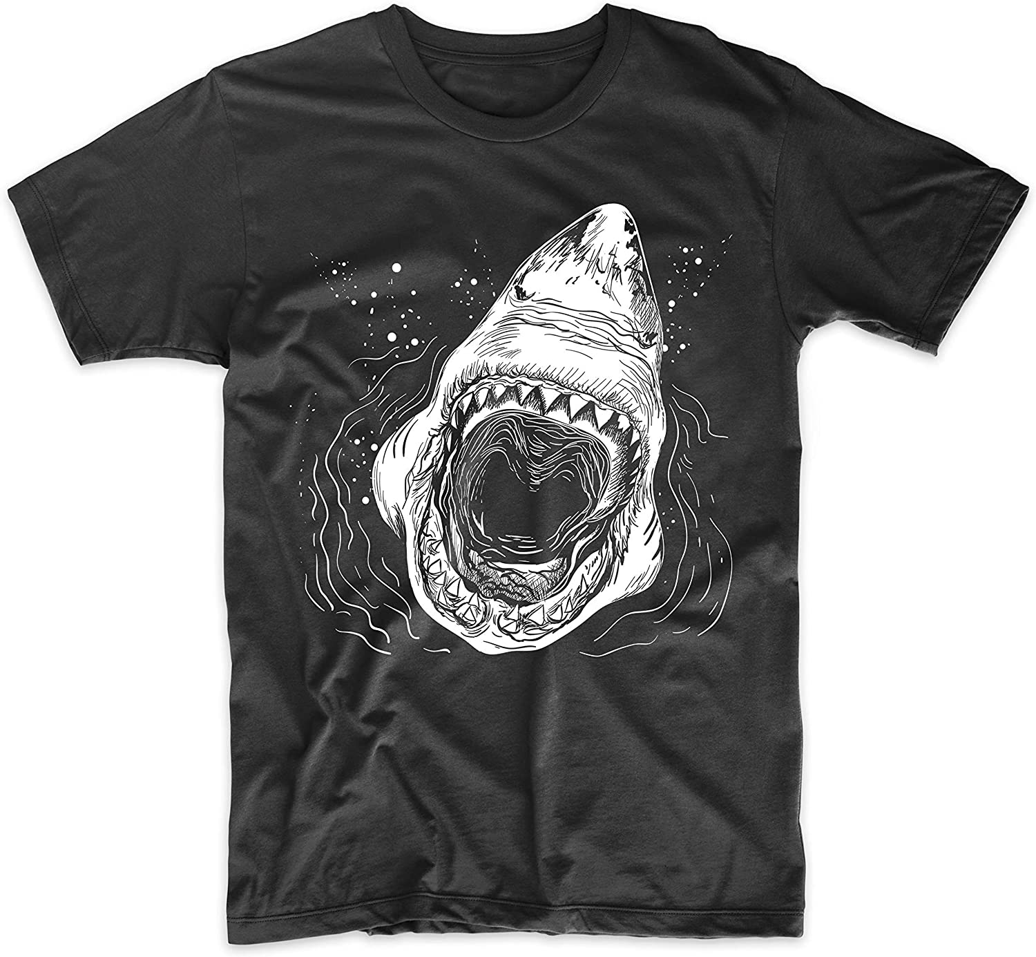 Great White Shark Attack Cool Shark Design T-Shirt