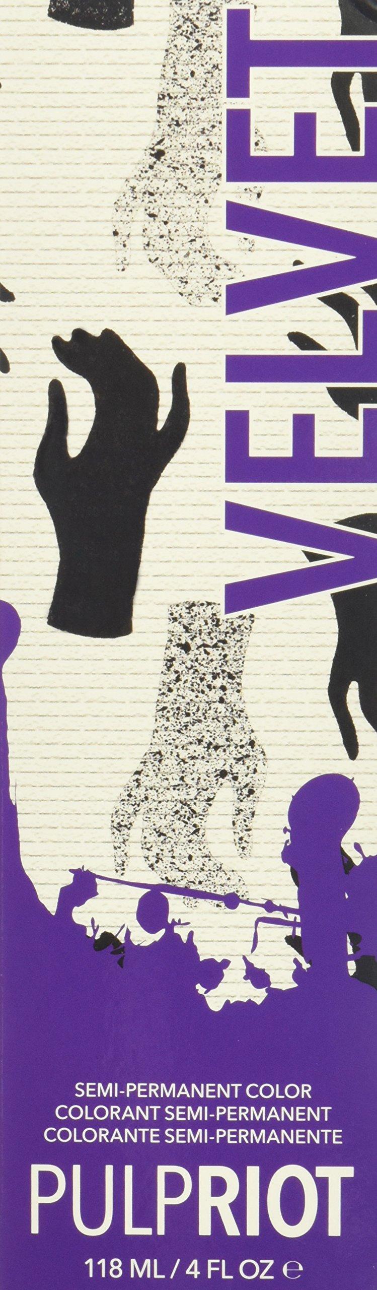Pulp Riot Semi-Permanent Hair Color for Unisex, Velvet Eggplant, 4 Ounce by Pulp Riot (Image #3)
