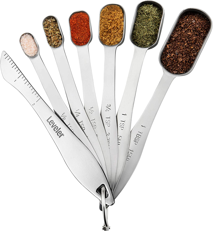 Spring Chef Heavy Duty Metal Measuring Spoons