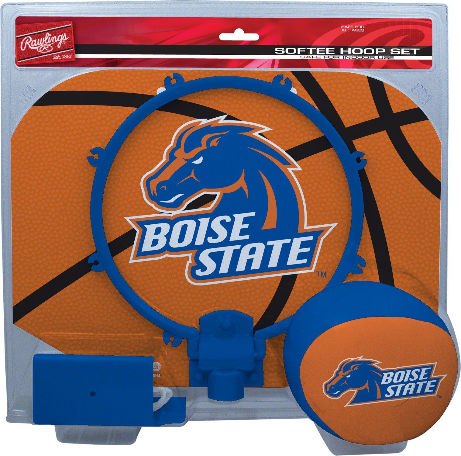 NCAA Boise State Broncos Kids Slam Dunk Hoop Set, Blue, Small