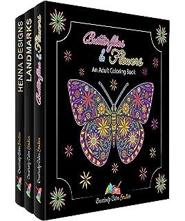 Amazon Adult Coloring Books Set