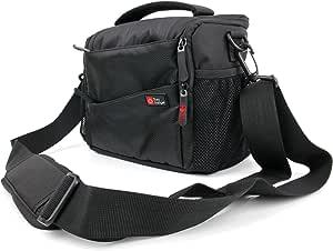 DURAGADGET Funda Acolchada//Bolsa para Sony FDR-AXP33 HDR-PJ620 HDR-CX405 con Correas De Transporte Y Trabillas HDR-PJ410