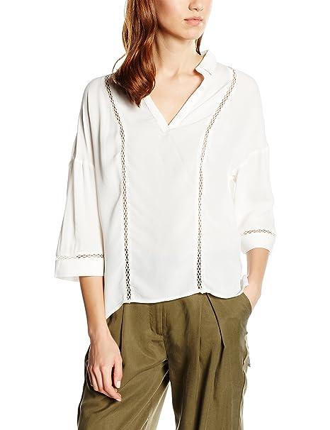 Cortefiel, Blouse L/S FAGOTING - Blusa para Mujer, Color Beige, Talla