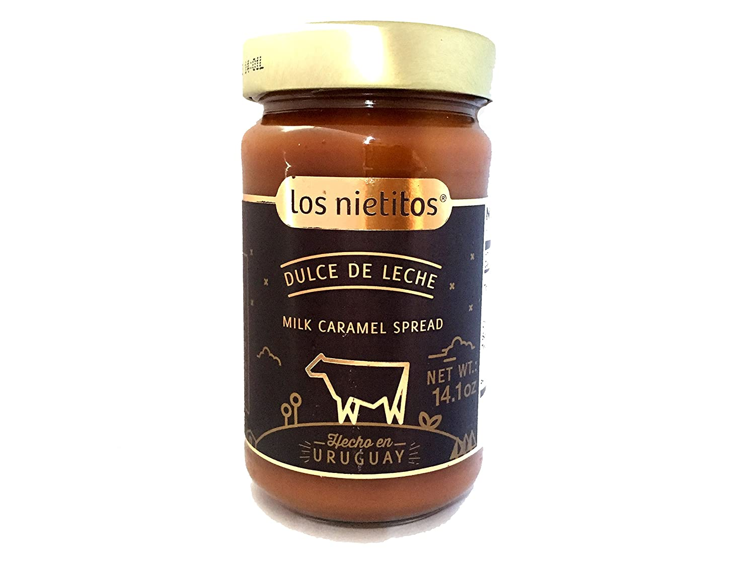 Amazon.com : Los Nietitos Dulce de Leche - Caramel Spread, 14.1 oz : Grocery & Gourmet Food