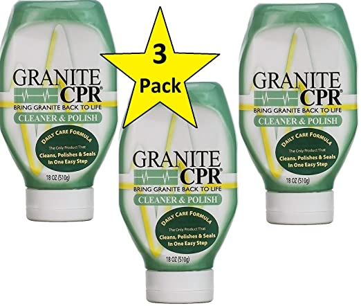 Amazon.com: Granite CPR Cleaner & Polish, 18 Oz: Home & Kitchen