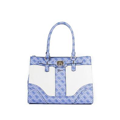 000cd91402 Sac à main Guess Greyson Status Carry Cobalt Multi: Amazon.co.uk: Shoes &  Bags