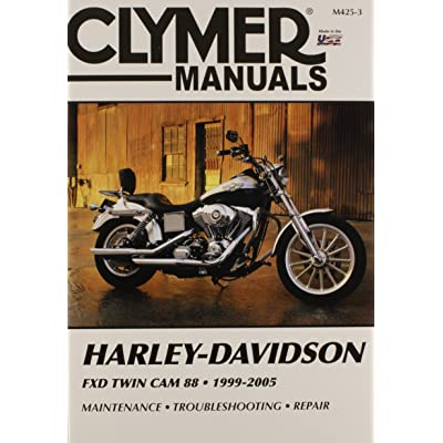 Clymer 27-M425 Repair Manual Harley Dynaglide: Automotive