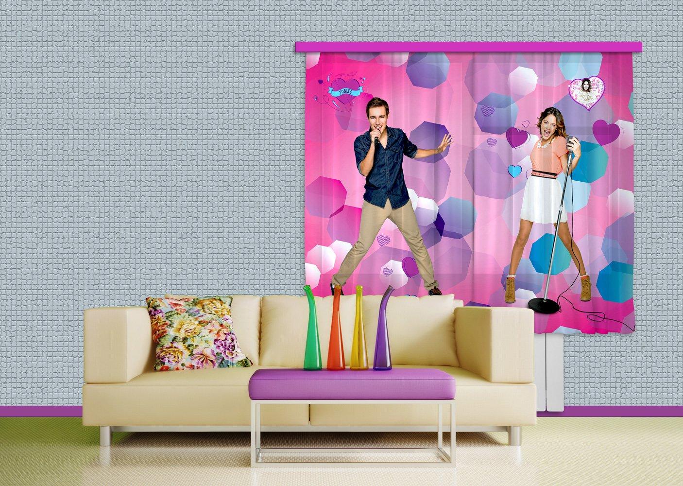 Camerette Disney Violetta : Ag design tenda fcs xl cameretta disney violetta amazon