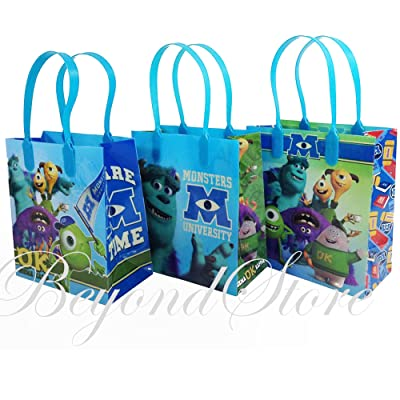 Monsters University Small Party Favor Goody Bags 36x, pack of 12: Toys & Games