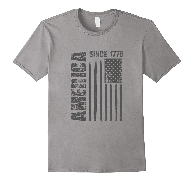 America Since 1776 Flag Tshirt Dark-Vaci