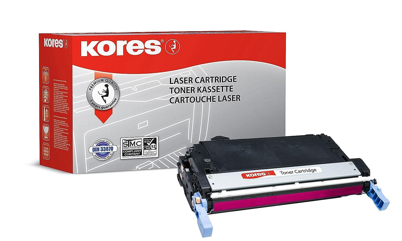 Kores de Color tóner para Color de Laserjet 4005, 7500 páginas, color rojo 9c5e94