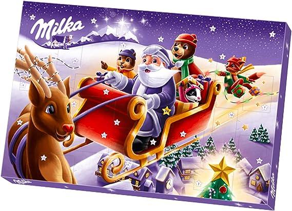 Milka – Calendrier de l'Avent – 24 Surprises Chocolatées pour Noël