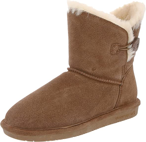 BEARPAW Women's Rosie Snow Boot (42 M EU / 11 B(M) US, Hickory)
