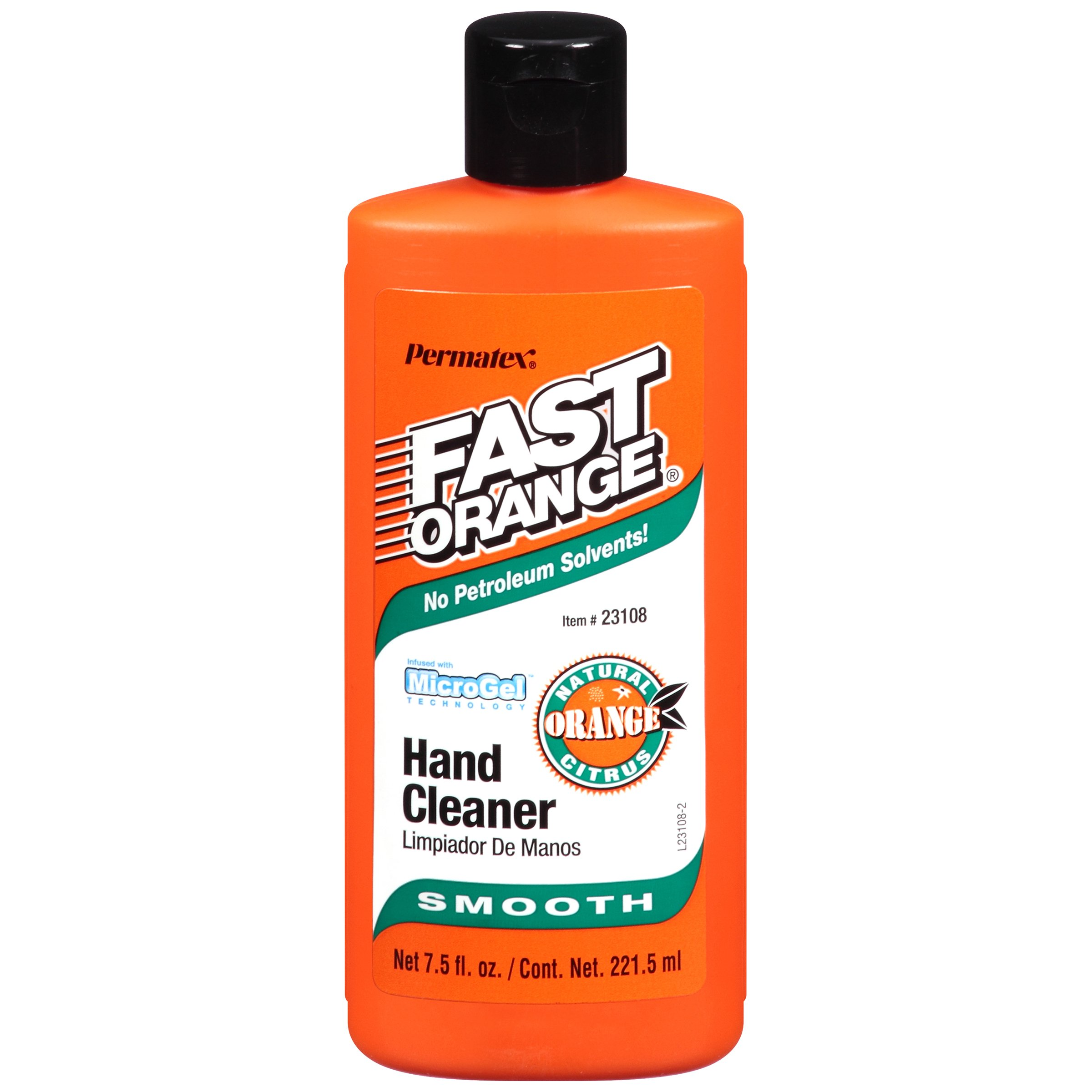 Permatex 23108-12PK Fast Orange Smooth Lotion Hand Cleaner, 7.5 oz. (Pack of 12)