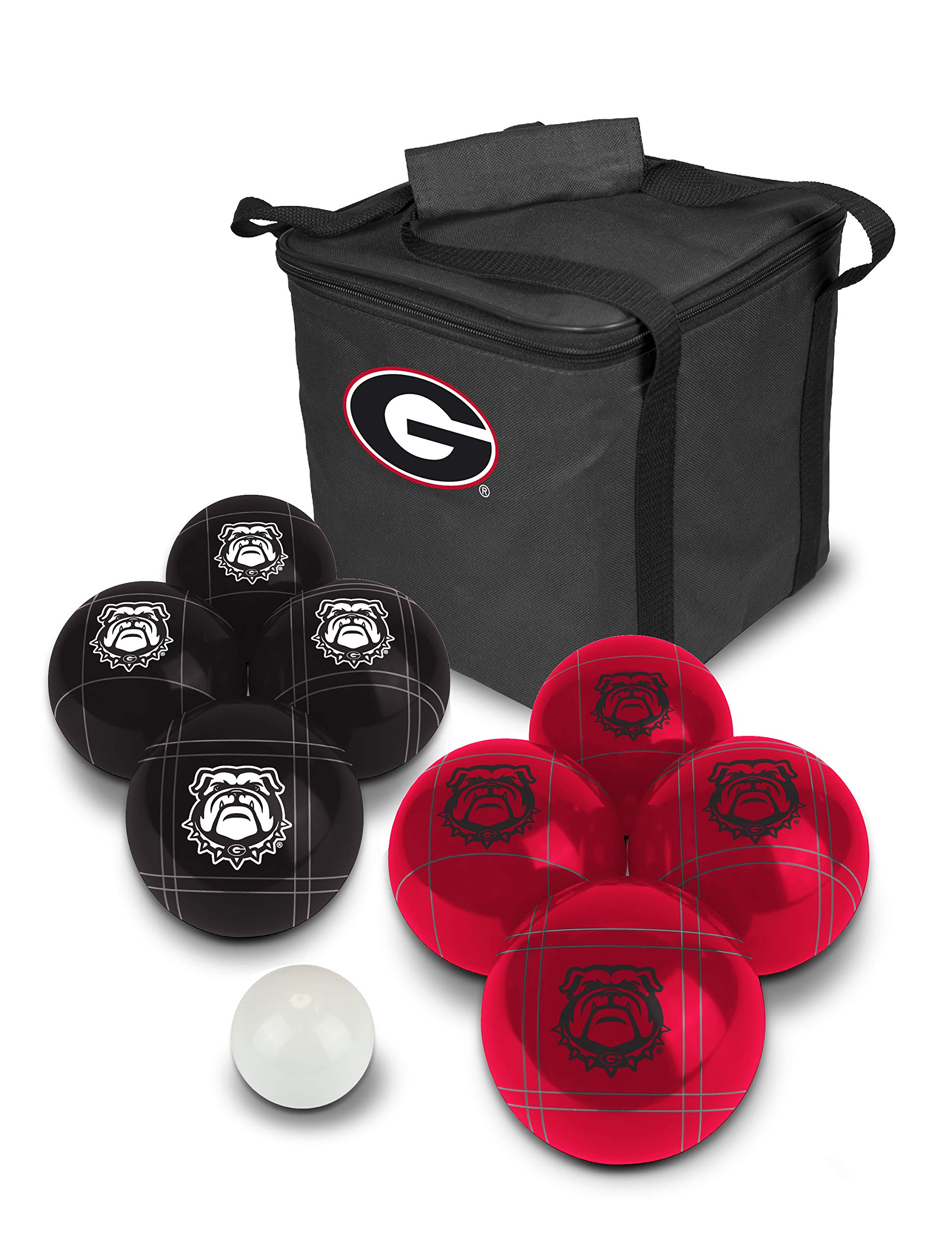 PROLINE NCAA College Georgia Bulldogs Bocce Ball Set by PROLINE