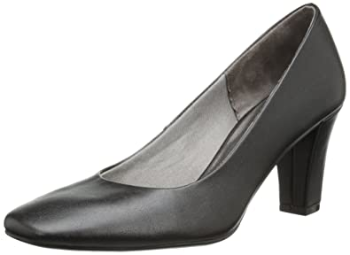 LifeStride Womens Sable Closed Toe Classic Pumps Black Size 8.5
