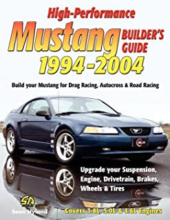 ford mustang 1994 through 2004 updated to include 1999 through rh amazon com 2003 svt cobra service manual 2003 mustang cobra repair manual