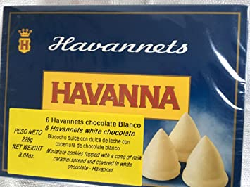 Havannets Chocolate blanco / White chocolate x 6
