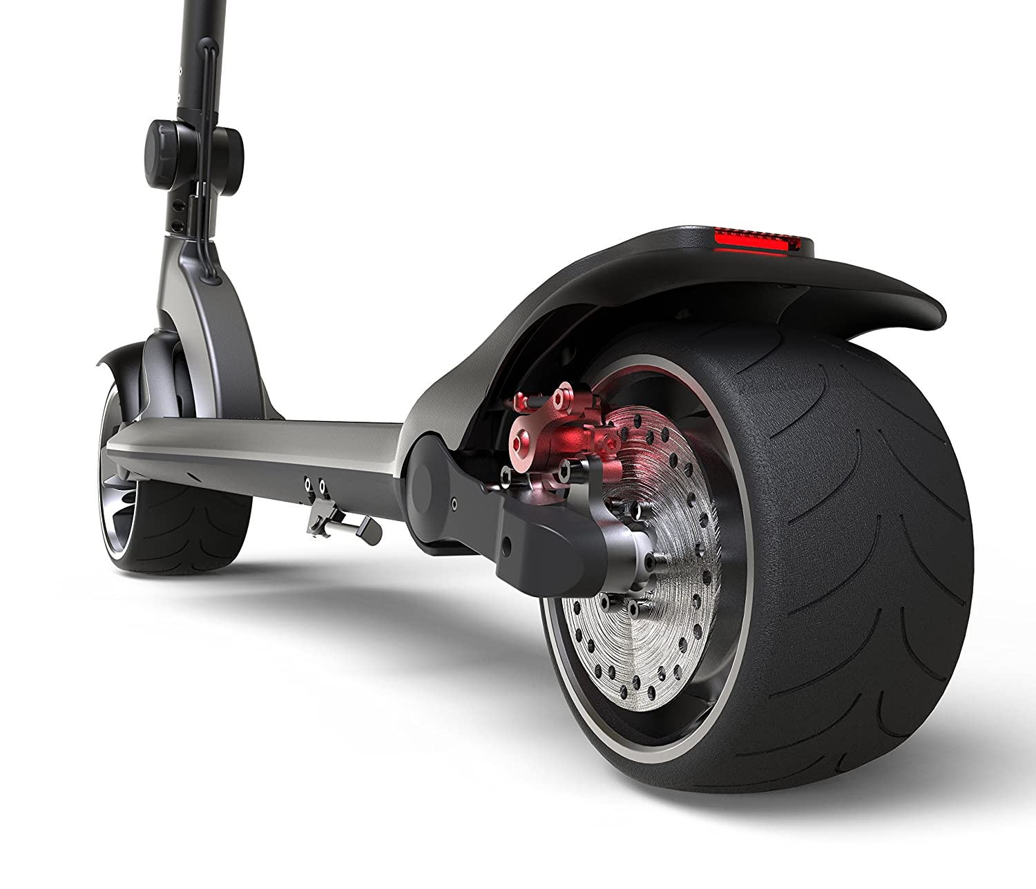 Mercane WideWheel – Powerful Electric Scooter for Adults – up to 25mph, 20 miles range, 48V, 500W single or 1000W dual motor