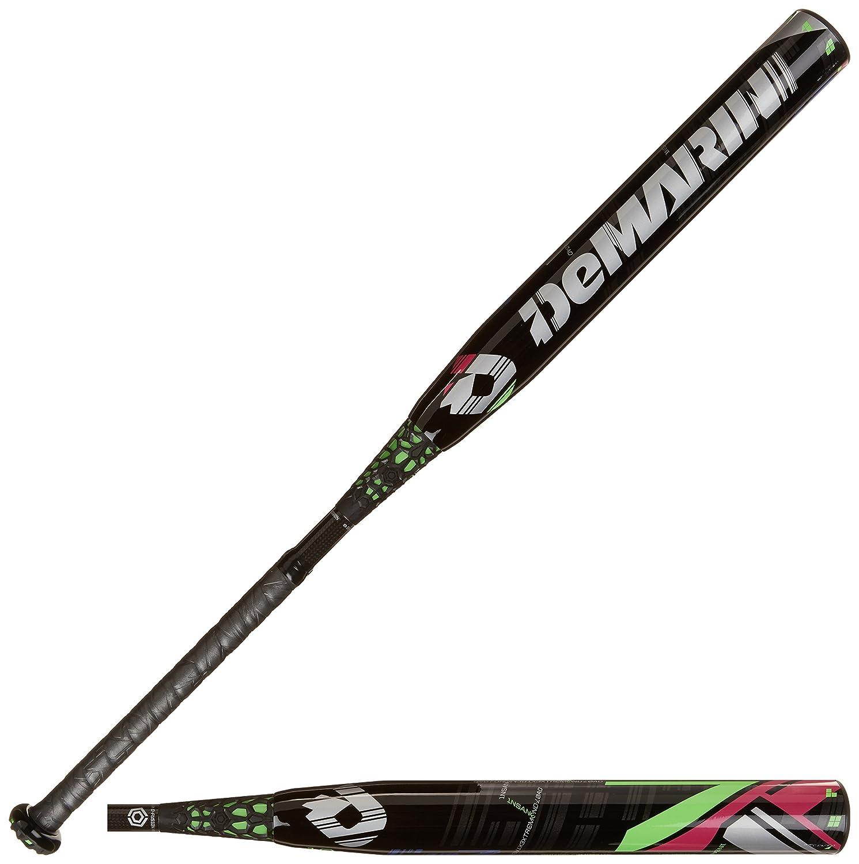 DeMarini cf7 Insane 10 Fastpitch Baseball Bat B00IRE4JMGブラック/グリーン 34-Inch/24-Ounce
