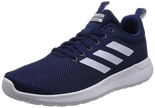 c6c46c760 Adidas Men s Lite Racer CLN Ftwwht Dkblue Running Shoes-10 UK India ...