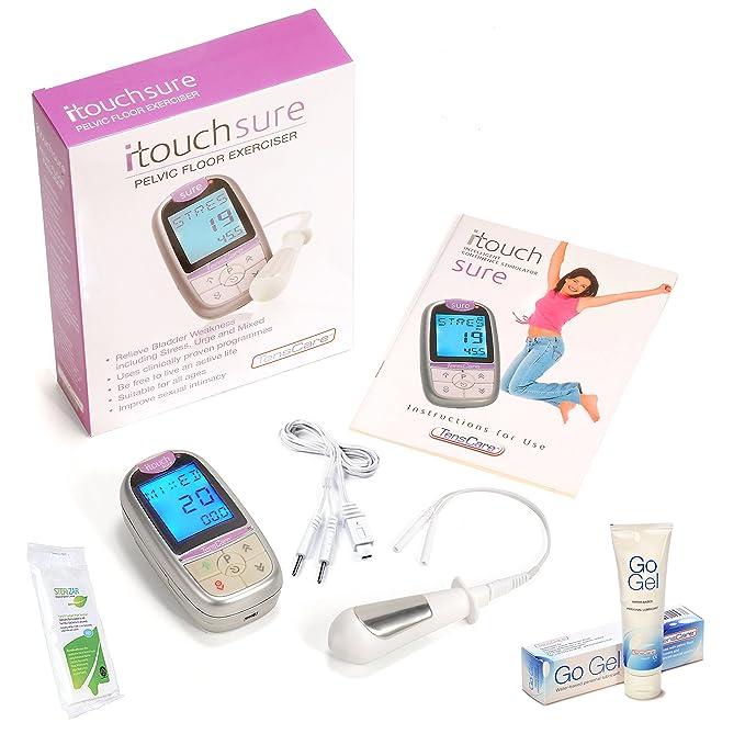 TensCare itouch Sure Kit, muscular pélvico tóner + Lubricante Gel + sonda toallitas (de IVA en el Reino Unido): Amazon.es: Salud y cuidado personal