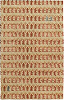 product image for Capel Rugs Genevieve Gorder Twigs Rectangle Hand Tufted Rug, 5' x 8', Ash