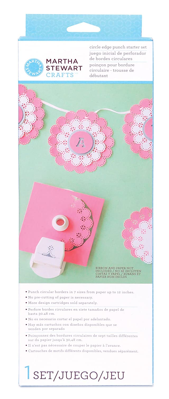 Amazon Martha Stewart Crafts Circle Edge Paper Punch Starter Kit