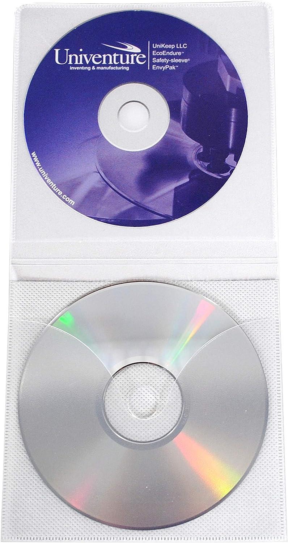 Viewpak XG CD//DVD sleeve with Safety-sleeve Box of 500