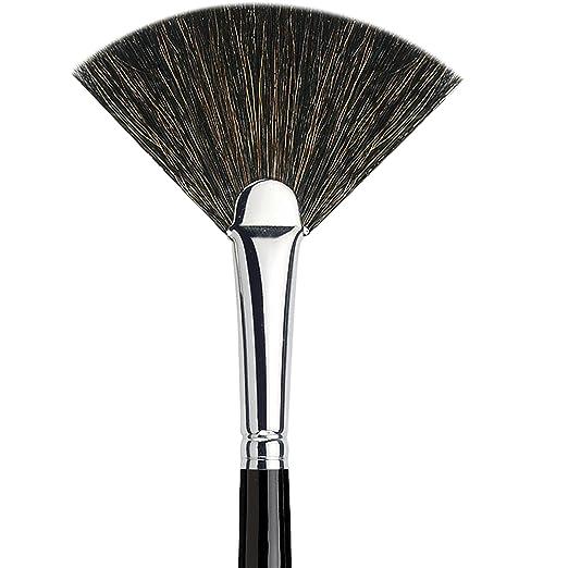 Amazon.com: da Vinci Cosmetics Series 9014 Classic Blusher Brush, Round Natural Hair, 25.3 Gram: Beauty