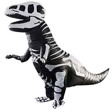 Inflatable Costume Dinosaur T-Rex Stegosaurus Gorilla Christmas Halloween  Cosplay Blow up Outfit Xmas Fancy Dress