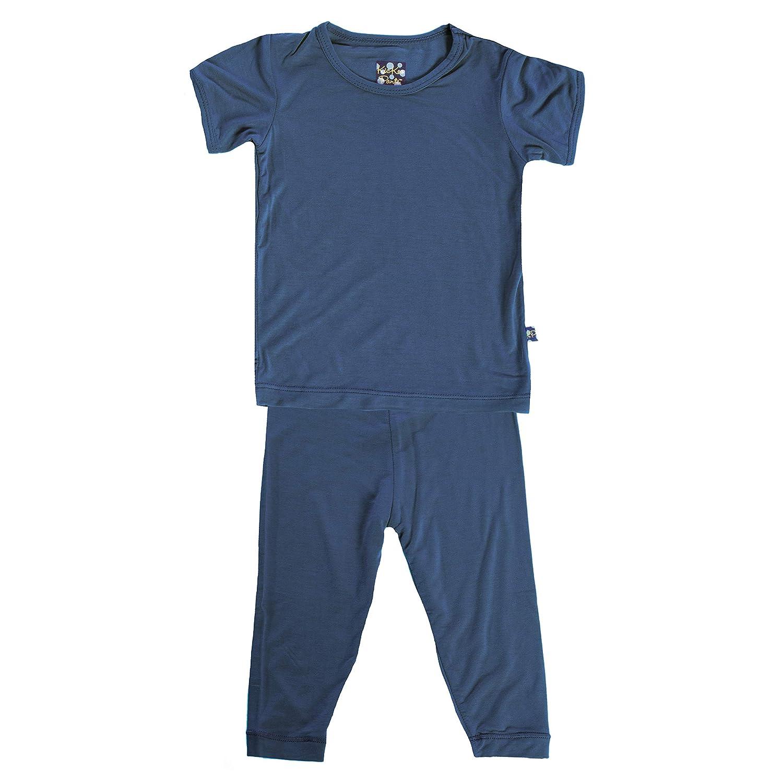 Kickee Pants Basic Short Sleeve Pajama Set
