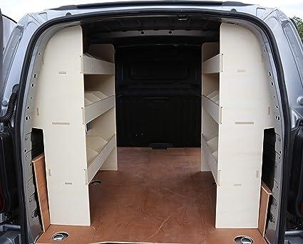 Vanify Renault Trafic SWB Pre 2014 OS & NS - Estantería Trasera de Madera contrachapada Ligera para Furgoneta - Sistema de Almacenamiento de Estante - Estante para Herramientas: Amazon.es: Coche y moto