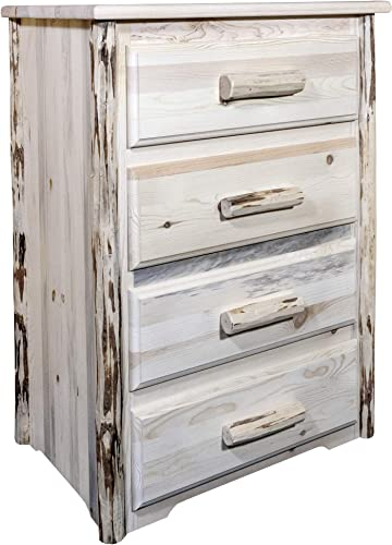 Montana Woodworks Montana Collection 4 Chest of Drawers