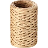 Syhood 65 Feet Floral Wire Vine Wire Bind Wire Rustic Craft Wire Wrapping Wire for Flower Bouquets (Khaki)