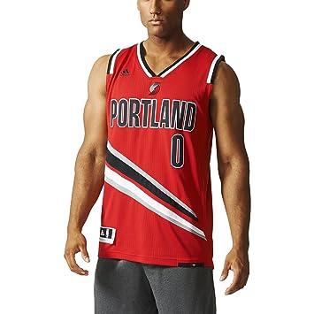 Adidas Portland Trail Blazers NBA Swingman Trikot, Camiseta para Hombre, (Rojo/Negro/Blanco), 4XL: Amazon.es: Zapatos y complementos